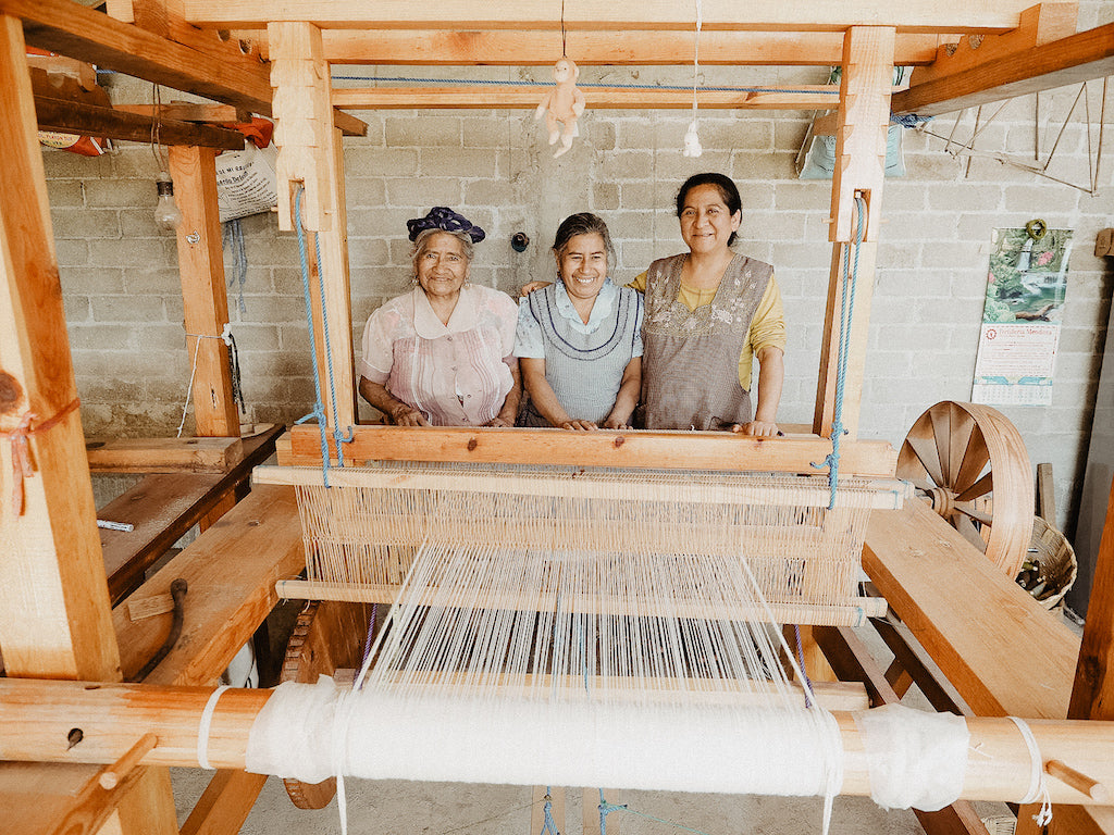 pedal loom and vida nueva