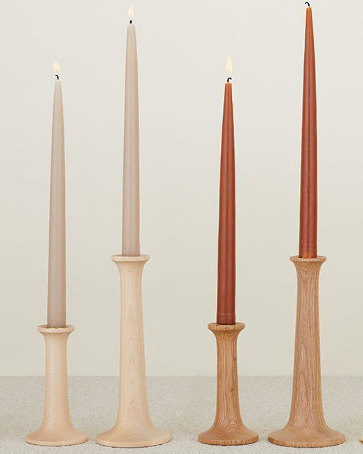 Maple Wood Candle Holder