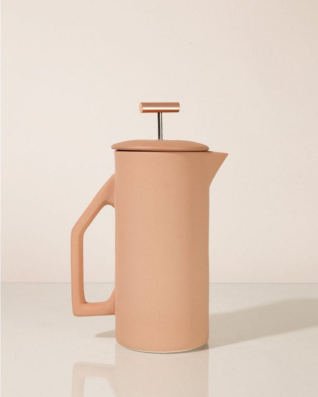 Sand Matte Ceramic French Press