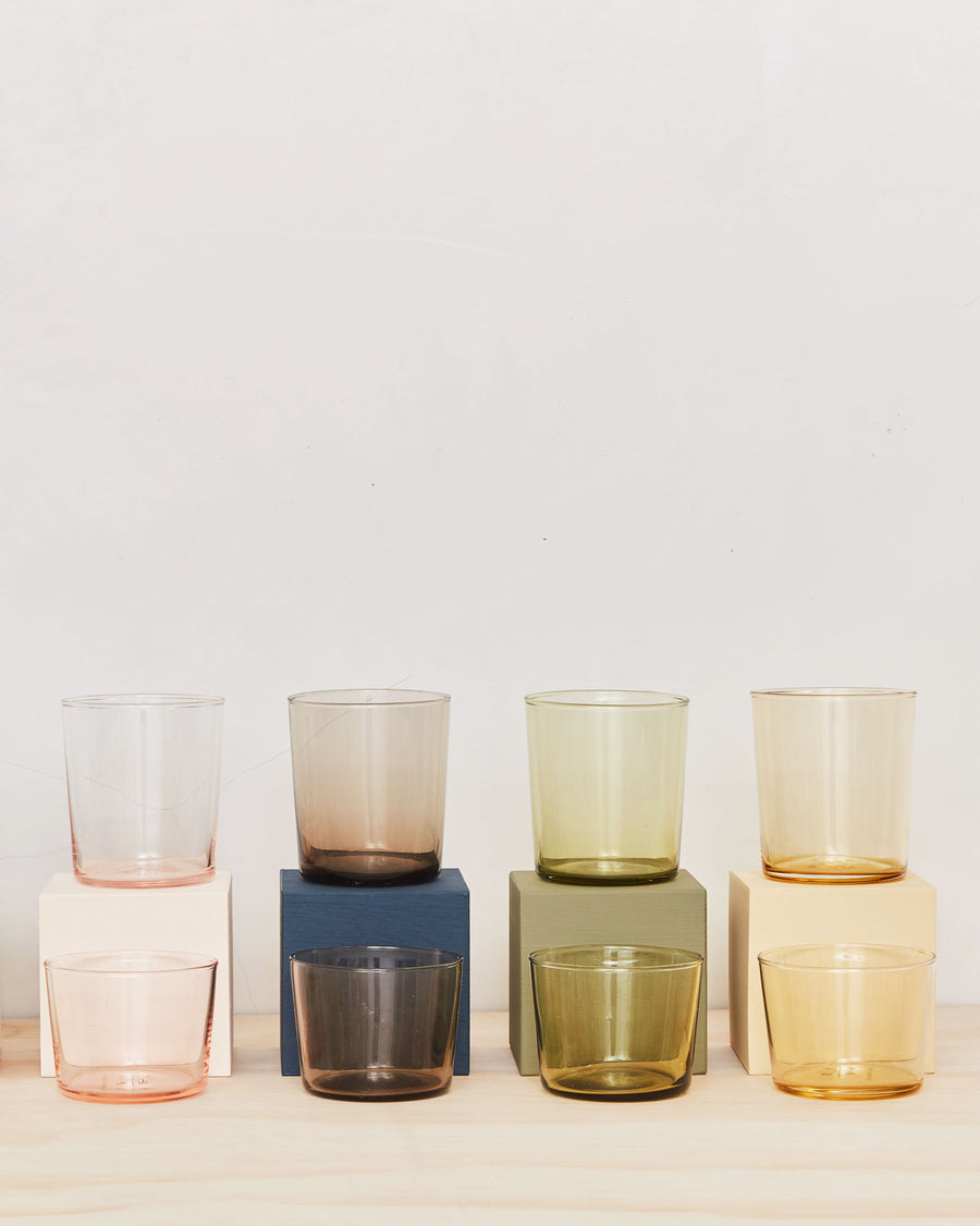 Chroma Colored Glassware - Set of Six
