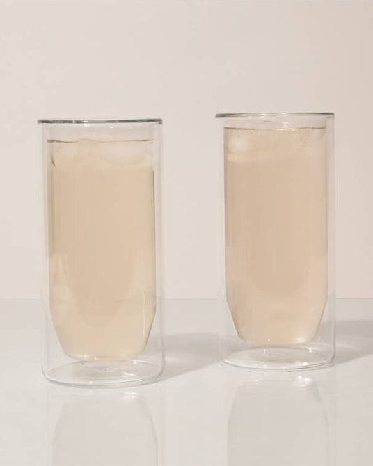 Double-Wall Glass Set 16oz