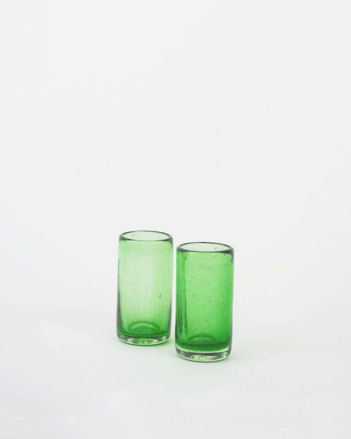 Emerald Tequila Shot Glass Set