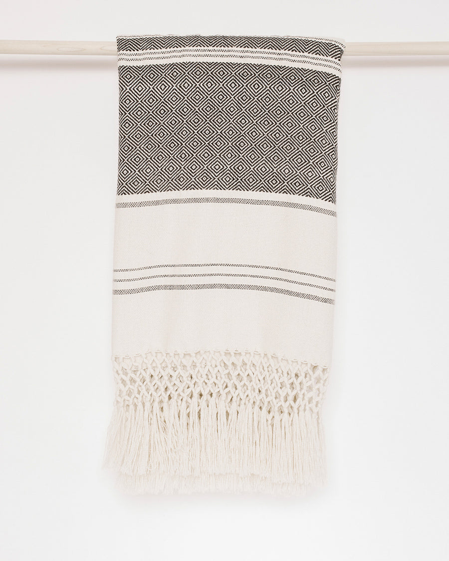Rayas Baby Alpaca Handwoven Throw