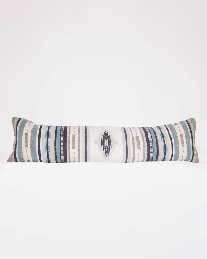 Vela Azul Lumbar Pillow