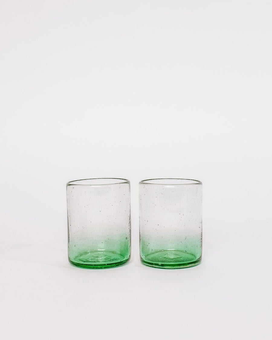 Xela Emerald Glass Set