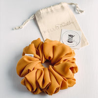 Oversized Butterscotch Scrunchie