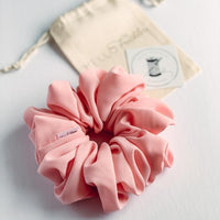 Oversized Pink Lemonade Scrunchie