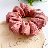 Antique Blush Scrunchie