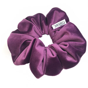 Purple Fantasy Velvet Scrunchie