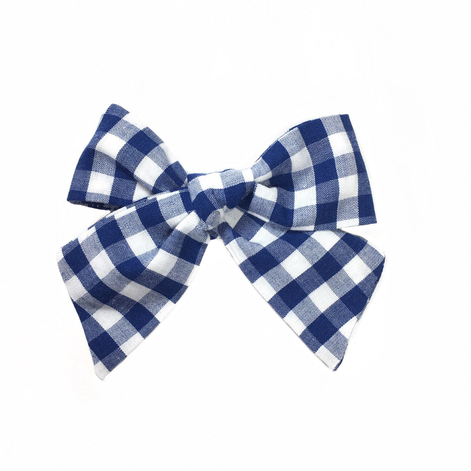 Anne's Navy Blue Gingham