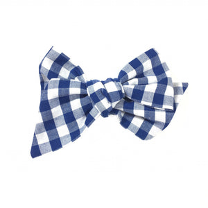 Pinwheel - Navy Blue Gingham