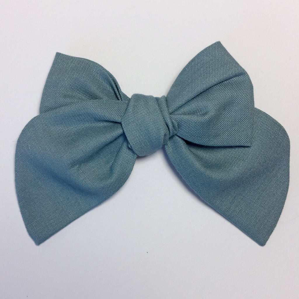Sailor Bow Grey blue