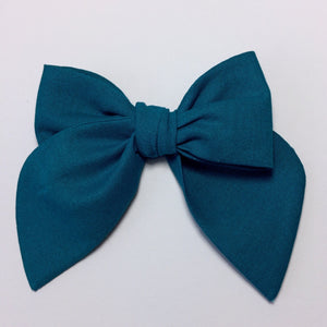 Sailor Bow Teal