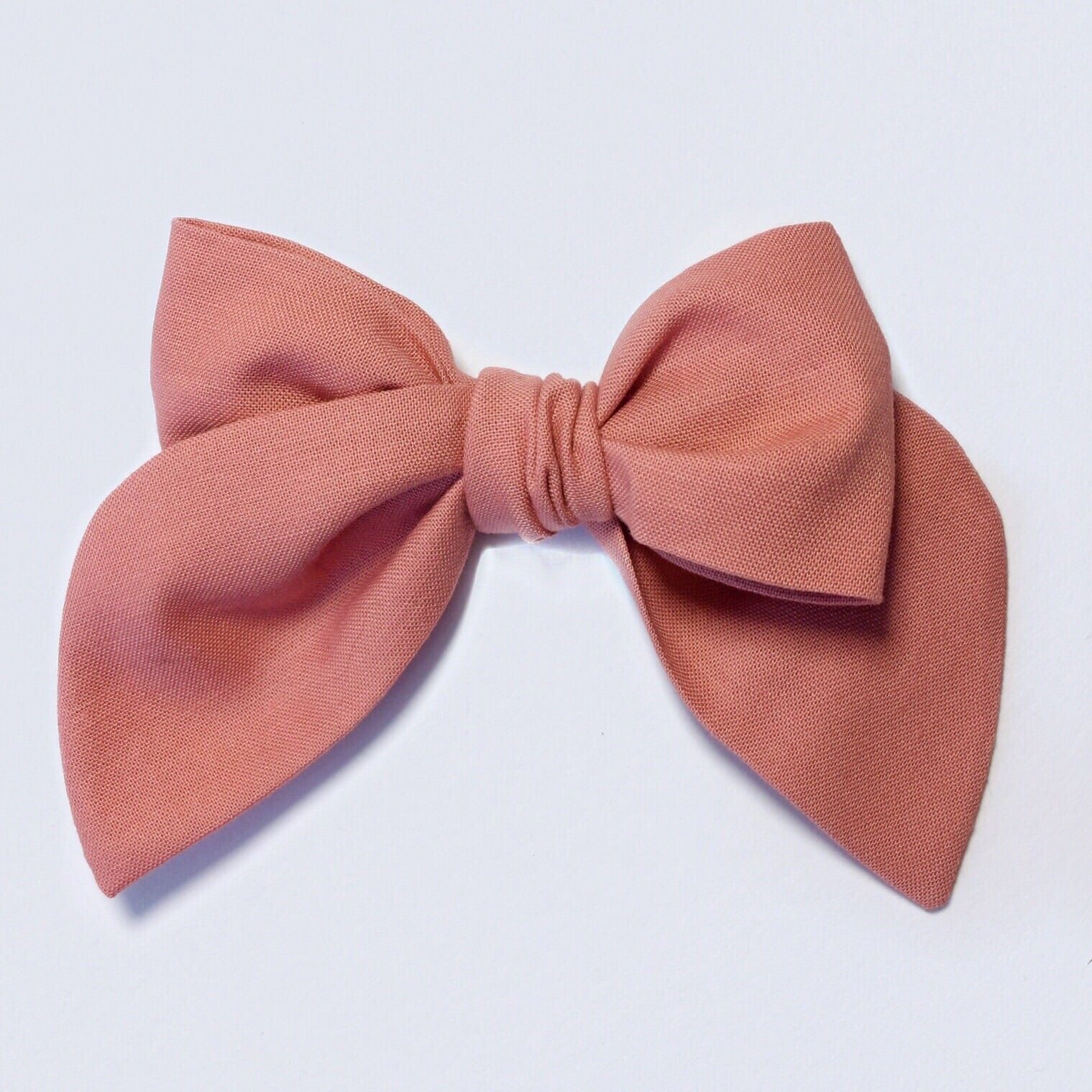 Sailor Bow Dusty Coral