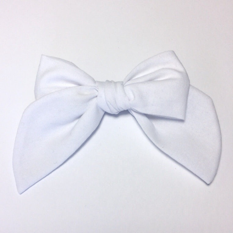 Sailor Bow White