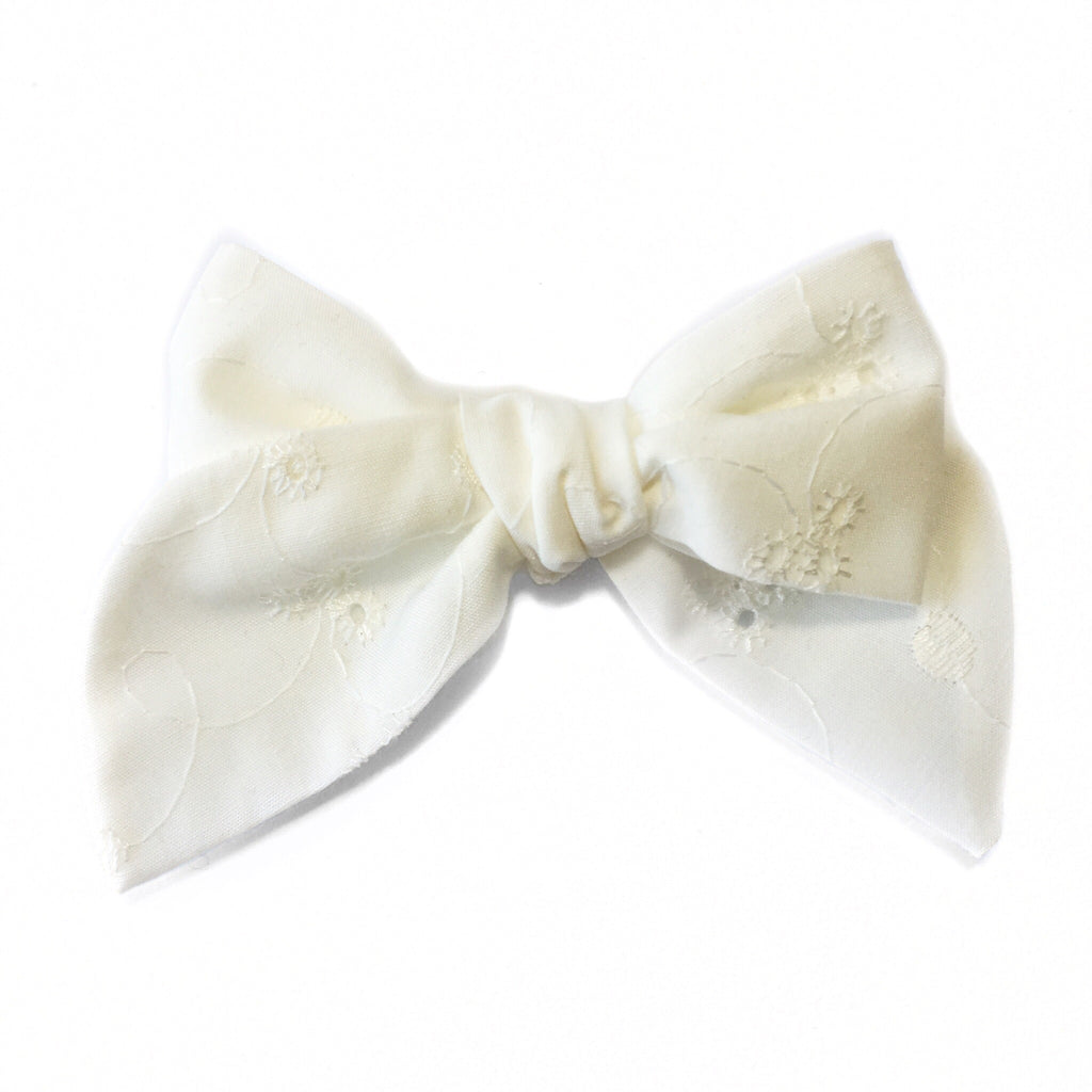 Sailor Bow Cotton Flower