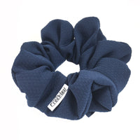 Midnight Blue Scrunchie