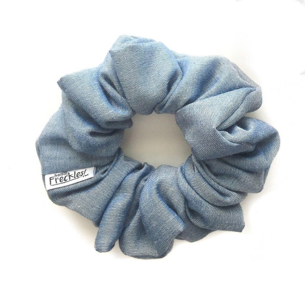 Light Denim Scrunchie