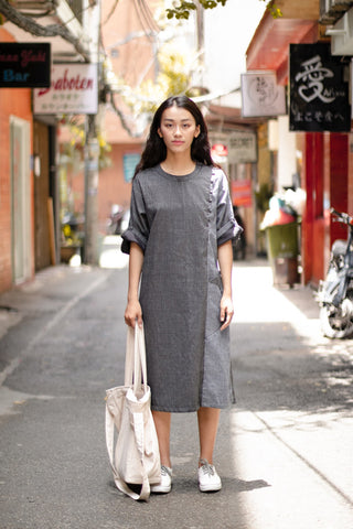 Váy Nobi | Nobi Dress Mè Đen | Black Sesame | Cotton 825.000 VND | 36.5 USD