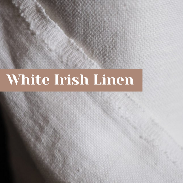 Simple White Linen Outfit Ideas