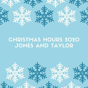 Merry Christmas from Jones and Taylor.