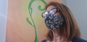Ladies Linen Face Mask $15.00 each