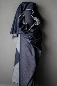 Washed Denim.  1/4 Metre. NZD$8.50