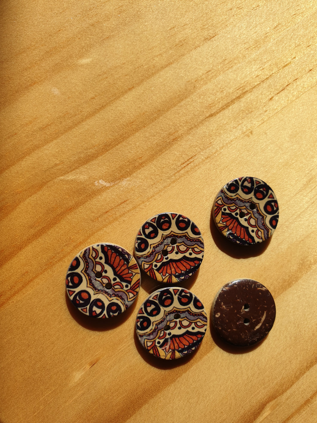 Liberty African Button - NZD$4.50 each