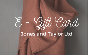 Jones and Taylor E - Gift Card