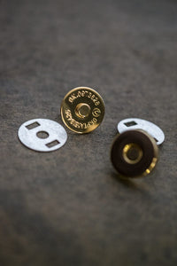 Magnetic Snaps - Gold type. NZD$4.50 each