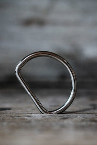 "Nickel D Ring 1/2""- NZD $1.00 each"