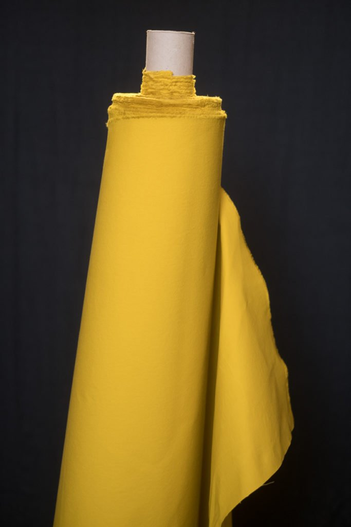 Oilskin - Yellow Trench Dry. 1/4 Mtr. NZ$13.25