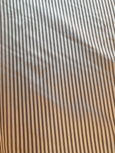 Lining - Tan/White Stripe -1/4 Mtr $2.25NZD