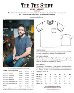 Men's Tee Shirt Pattern