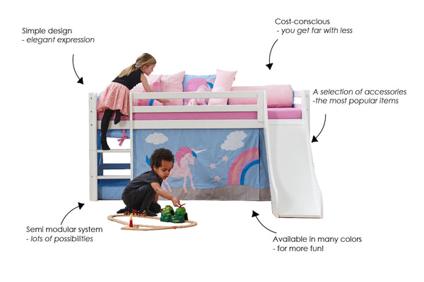 hoppekids basic bed system