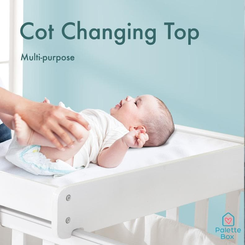 MOOB Baby Cot Changing Table (Changing Mat Included)
