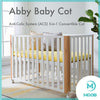 MOOB Baby Abby Anti-Colic System (ACS) 5-in-1 Convertible Baby Cot (120x65cm) - Free Installation Provided