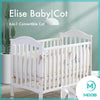 MOOB Baby Elise 6-in-1 Convertible Baby Cot with Drop-Gate (120x60cm) [ETA 10 June]
