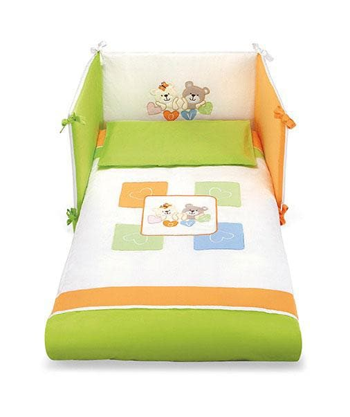 Pali 3 Pieces Bedding Set Love Coloured