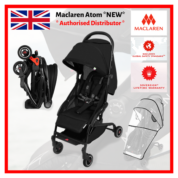 Maclaren Atom Style Set - *NEW* Lifetime Local Warranty