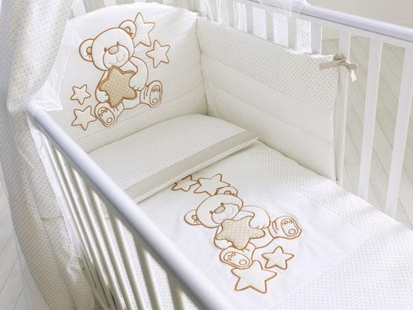 Pali 3-Pieces Bedding Set Meggie White