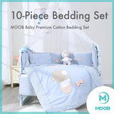 MOOB Baby 10-Pieces Splendid Times Bedding Set