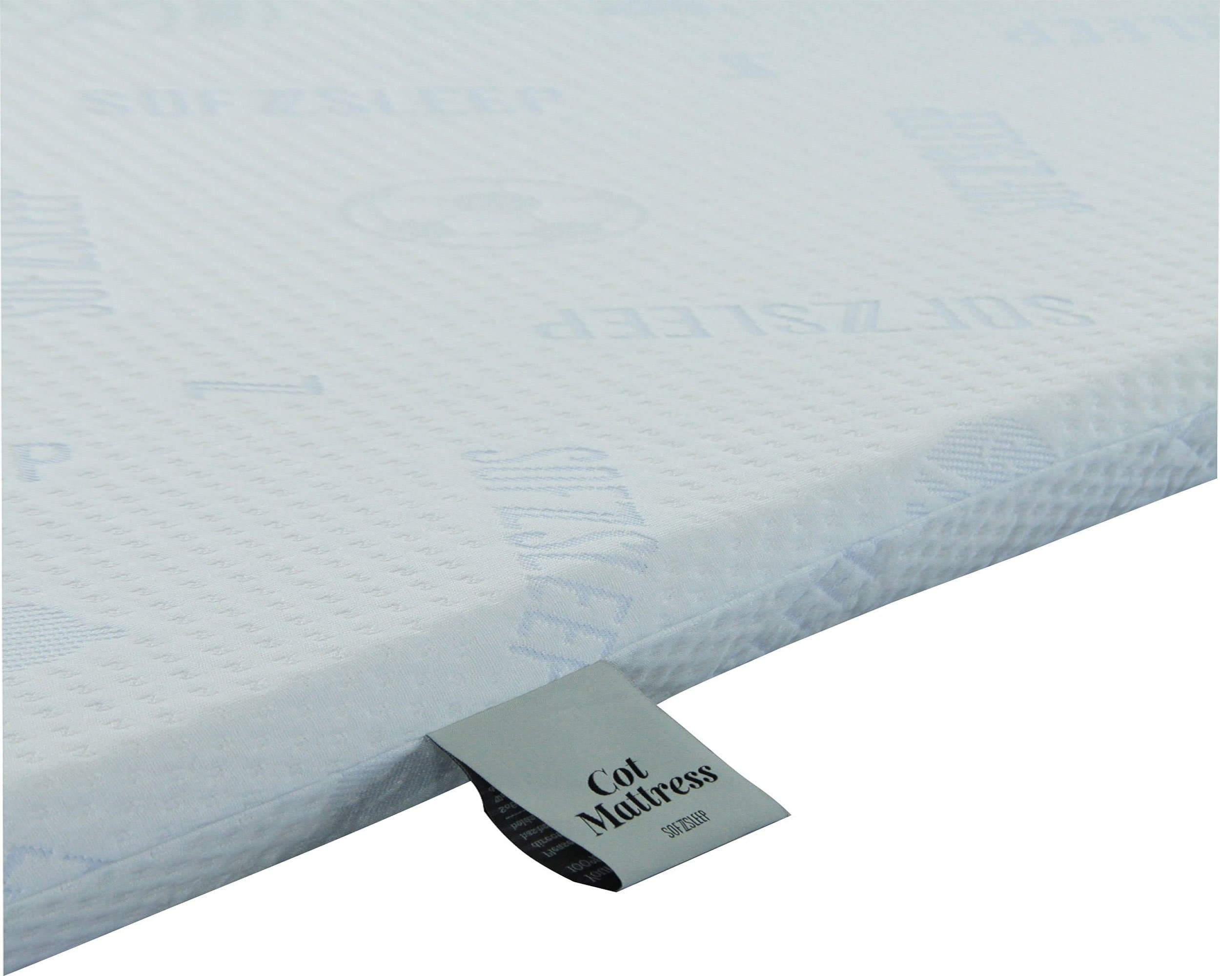 Sofzsleep Baby Cot Latex Mattress (L120 x W65 cm)
