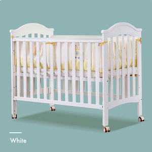 MOOB Baby Elise 6-in-1 Convertible Baby Cot with Drop-Gate (120x60cm)
