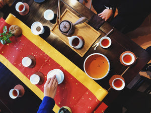 Monthly Melbourne Tea meetups for tea learning, tasting and appreciation inside Prahran Market