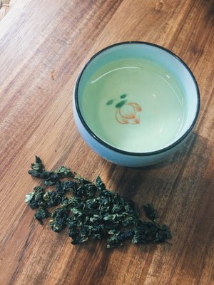 Iron Goddess Oolong (Tie Guan Yin)