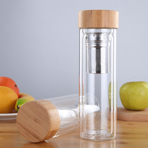 Bamboo Lid Tea Infuser