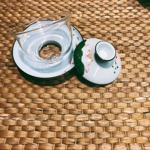 Glass Gaiwan (Gongfu Cha Teawares, with Free Cups)