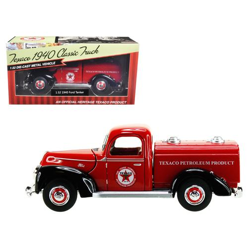 "1940 Ford Tanker ""Texaco"" Red 1/32 Diecast Model Car by Beyond Infinity"