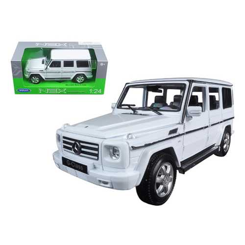 Mercedes Benz G Class Wagon White 1/24 Diecast Model Car by Welly